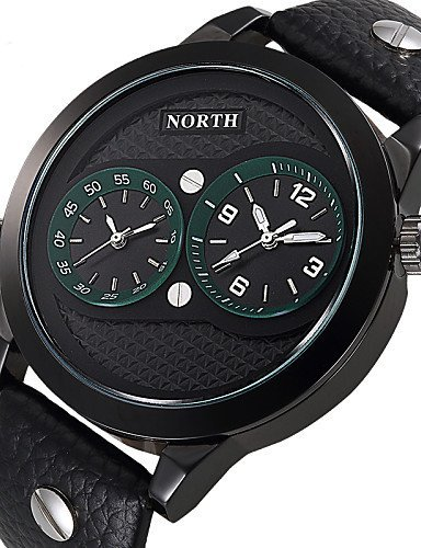 xd-north-dual-time-display-male-sport-watches-genuine-leather-water-resistant-fashion-casual-men-spo