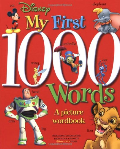 Disney: My First 1000 Words: A Picture Wordbook (Disney Learning) (1000 Words Picture Book compare prices)