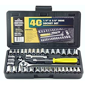 Great Neck 40 Piece Socket Set