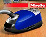 Miele Pisces S5281 Canister Vacuum Cleaner With STB 205-3 Turbohead and SBB 300-3 Parquet Floorbrush