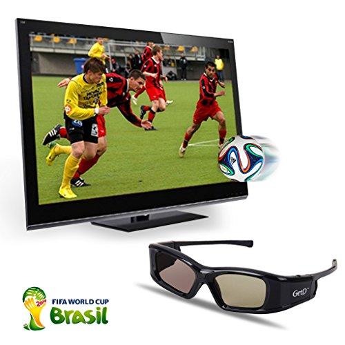 2 Stücke IR&BT 3D Aktiv Shutter Brille für Toshiba 40TL868 40TL868B 46TL868B TL933 TL938G 40TL968G 39L4363D 40L7363DG 32L233DG