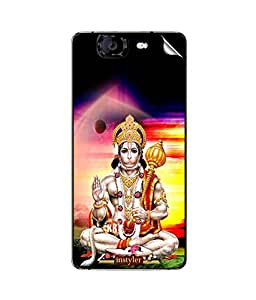 instyler MOBILE STICKER FOR MICROMAX CANVAS KNIGHT A350