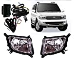 #10: Auto Pearl - Premium Quality Car Fog Lamp Lights with Wiring kit and Switch For - Tata Safari Dicor (Without Plastic Sash Cover)