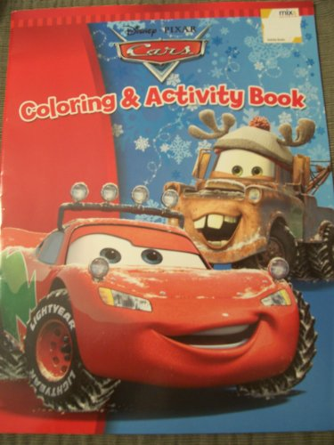 Disney Cars Coloring & Activity Book ~ Christmas & Holiday Edition - 1