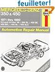 Mercedes-Benz 350 and 450 V8, 1971-1980