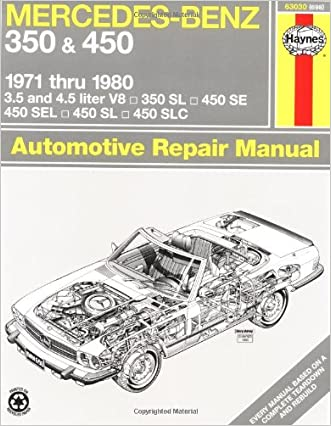 Mercedes-Benz 350 and 450 V8, 1971-1980 (Haynes Repair Manuals)