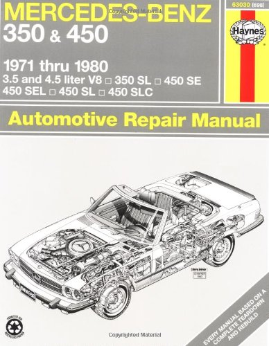 Mercedes-Benz 350 And 450 V8, 1971-1980 (Haynes Manuals) front-464192
