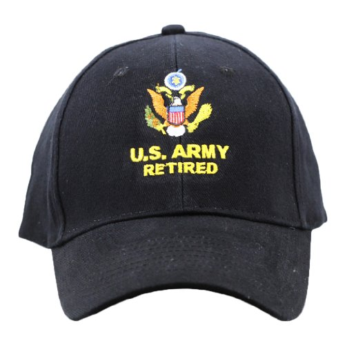 US Army Retired Cap United States Army Retired Hats Military Collectibles Gifts
