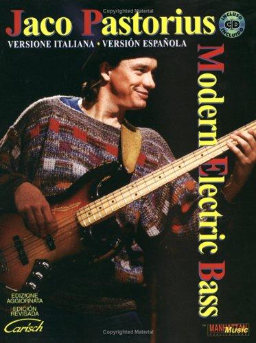 Modern Electric Bass. Con CD. Ediz. italiana e spagnola