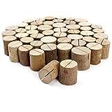 50 x Holz Holzsteg Kartenhalter Platzkarte Tischkartenhalter...