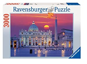 Ravensburger St Peter's Cathedral in Rome 3000 piece jigsaw puzzle