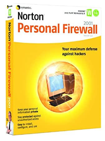 Norton Personal Firewall 2001 3.0 (5-pack)