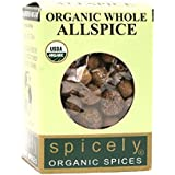 Spicely Organic Allspice Whole - Compact