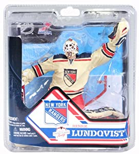 Henrik Lundqvist New York Rangers McFarlane NHL Series 32 Action Figure