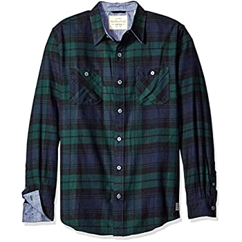 Weatherproof Vintage Men's Long Sleeve Flannel Shirt