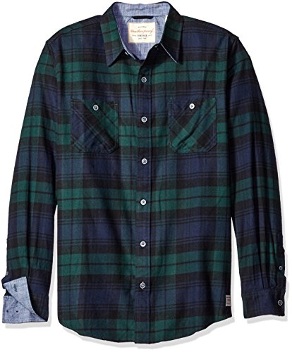 Weatherproof Vintage Men's Long Sleeve Flannel Shirt 0