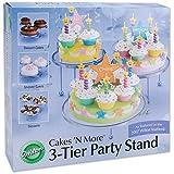 Wilton 307-859 3-Tier Cakes and Cupcake Stand ~ Wilton