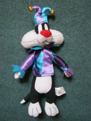 "Sylvester the Jester 12"" Plush - 1"