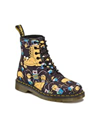 Dr. Martens R14318101 Mens 8 Eye Boot Z Dms Adventure Time Finn and Jake