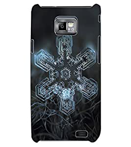 ColourCraft Abstract image Design Back Case Cover for SAMSUNG GALAXY S2 I9100