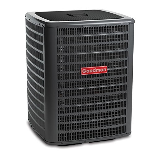 Goodman GSX160601 Single-Phase 16 Seer R-410A Condensing Unit, 5 Tons, 54,000 Btu, 208 / 230 Volts, 29.6 Amps (Goodman 16 Seer compare prices)