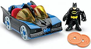 Fisher-Price Imaginext DC Super Friends Batmobile with Lights