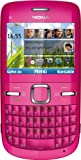 Nokia C3-00 hot pink sim-free, unbranded