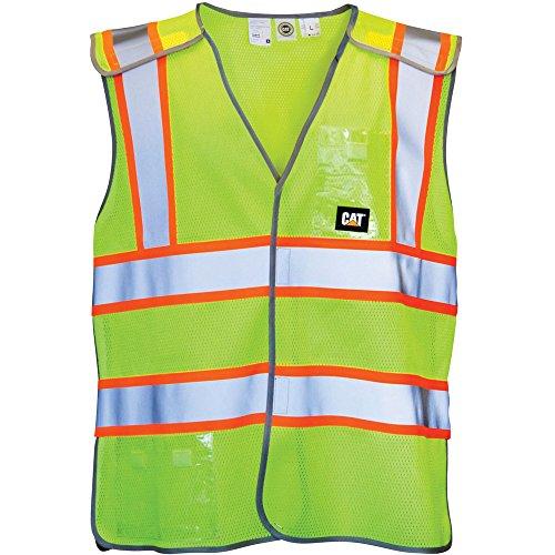caterpillar-mens-neon-workwear-hi-vis-vest-waistcoat-yellow
