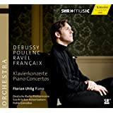 Debussy - Poulenc - Ravel & Francaix: Piano Concertos