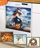 Set of 4 Seasonal Dishwasher Magnets