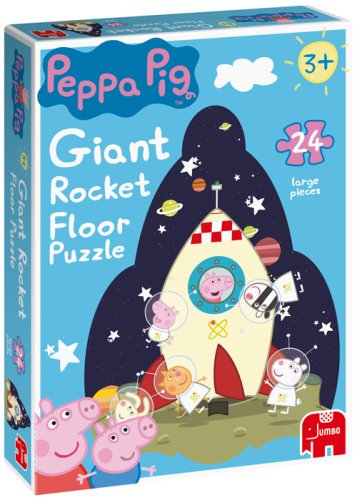 Peppa Pig Giant 24 Piece Rocket Floor Jigsaw Puzzle