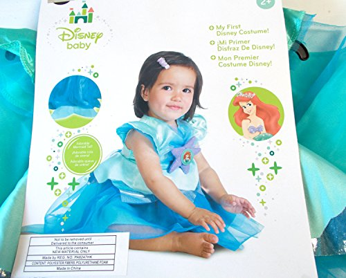 Disney Baby Ariel Child Toddler Costume 2T NIP