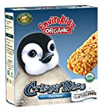 EnviroKidz Organic Penguin Fruity Burst Crispy Rice Bar, 6-Count Bars (Pack of 6)