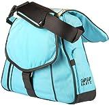 Go-Go Babyz Sidekick Deluxe Diaper Bag/Baby Carrier, Blue