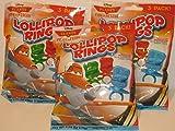 Planes Fire & Rescue Lollipop Rings 3 Packs of 3 Rings (9 Rings Total)