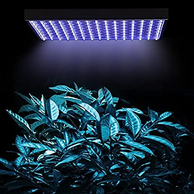 Superdream® LED Grow Light for Indoor Garden Greenhouse and Hydroponic Full Spectrum Growing Lamps 15W 225pcs Blue Light Hanging Light