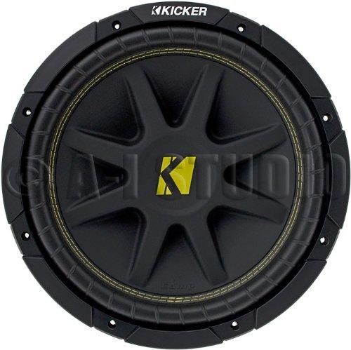 """Kicker 10 C15D 4-Ohm 15"""" Comp Series Subwoofer"""