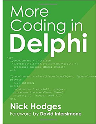More Coding in Delphi written by Nick Hodges