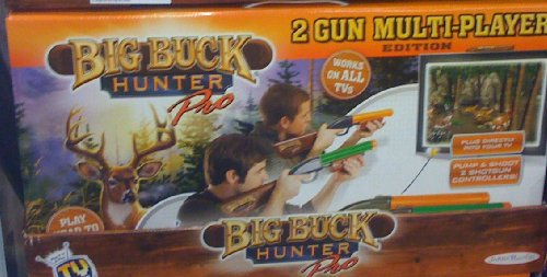 Big Buck Hunter Electronic Game 2 Player Pro Exclusive