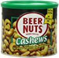 BEER NUTS Cashews, 12 Ounce Can