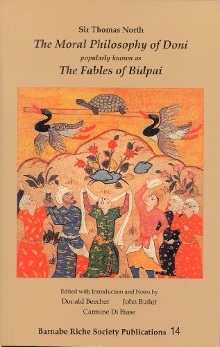 The Moral Philosophy of Doni: Popularly Known As the Fables of Bidpai