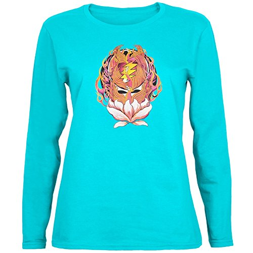 Grateful Dead - Phoenix Rising SYF Aqua Ladies Long Sleeve (Dead Rising Merchandise compare prices)