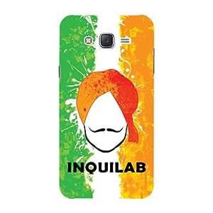 Kaira brand Designer Hard Back Case Cover for Samsung Galaxy J7 (Bhagat Singh)