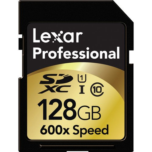 Lexar雷克沙 专业系列 600x SDHC UHS-I 128G存储卡(读90M/S)图片