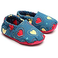 Jute Baby's Unisex Blue Cotton Booties- 3-6 Months