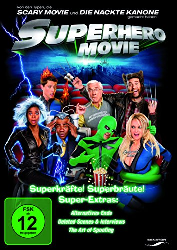 Superhero Movie, DVD