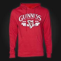 Guinness Hoodie Ladies - Red - Harp