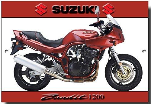 suzuki-bandit-1200qualite-plaque-en-metal