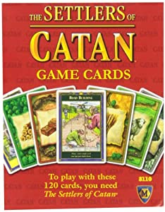 Mayfair Games The Settlers of Catan Replacement Game Cards Game Accessory