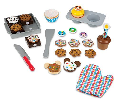 Melissa & Doug Mickey Mouse Clubhouse Sweet Treats Wooden Play Food Set Toy